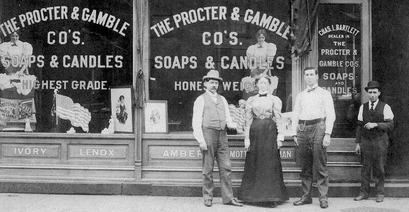 A Procter&Gamble az 1880-as években